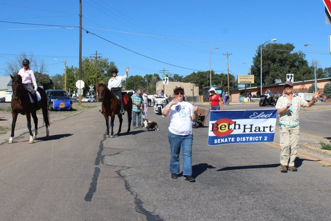 Banner Beth Horse